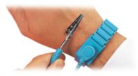 Adj Metal Wrist Band&Ground Cord Sets
