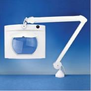 PELtec Rectangular Long Reach Magnifier Lamp