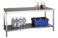 Stainless Steel Workbench & Shelf