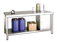 Stainless Steel Workbench & Cabinet