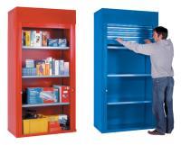 Roller Shutter Shelf Cabinet