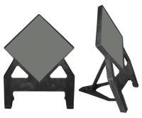 Dependable Easistor Blank Diamond Sign