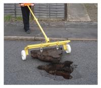 Manhole Cover Wheeler