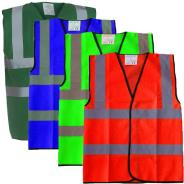 Dependable 2-Band Hi Vis Vest