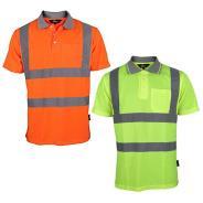 Dependable Hi-Vis Polo Shirt with Pocket