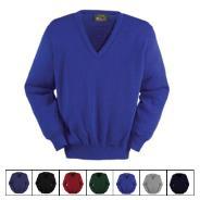 V-Neck Pullover Wool