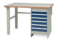 Heavy Duty Workbench with Cupboard