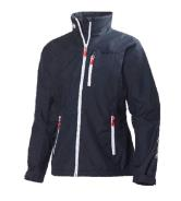 Helly Hansen Ladies W Crew Mid Layer Jacket - Navy
