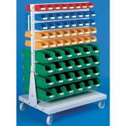 Double Sided Trolley and Bins Set