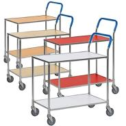 Kongamek Galvanised Table Trolley