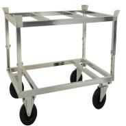 Kongamek Adjustable Pallet Truck with Pallet Holder