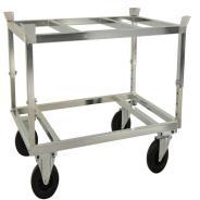 Adjustable Pallet Truck with Pallet Holder