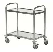 Kongamek Stainless Steel 2-Shelf Trolley