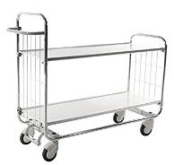 Flexible 2 Shelf Trolley