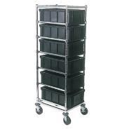 Adjustable Tote Box Cart