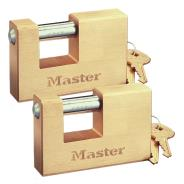 Rectangular Brass Padlocks