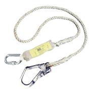 Titan C3 Shock Absorbing Lanyard with Scaff Hook