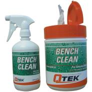 Bench Clean Wipes and Spray
