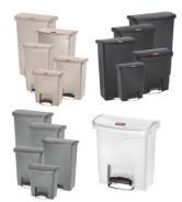 Rubbermaid Slim Jim® Step-On Waste Bins
