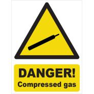 Compressed Gas Signs