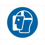 Wear Face Shield Symbol Signs