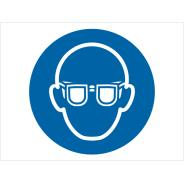 Wear Eye Protection Symbol Signs