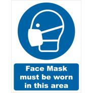 Face Mask Must Be Worn Signs