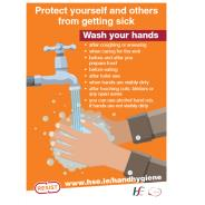 Protect Yourself And Others Self-Adhesive Poster