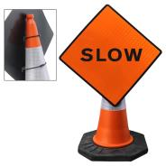 Slow Cone Sign