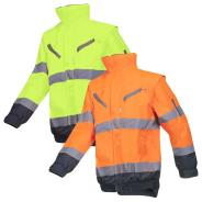 Sioen Campbell Hi-Vis Winter Bomber Jacket