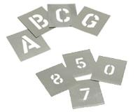 Stencils - Letters & Number