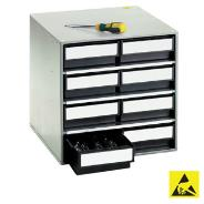 Dividers for ESD Parts Cabinets
