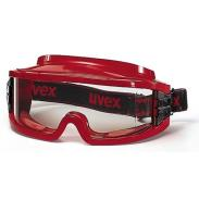 UVEX Ultravision Fire Red Clear Goggle