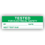 PremPak Write-On Labels - Tested (Electrical)
